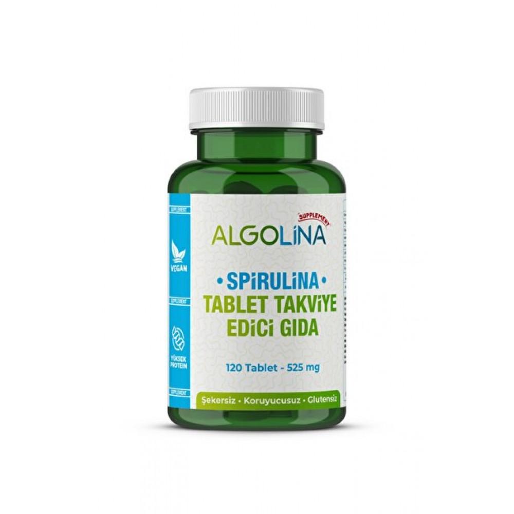 Algolina Spirulina Tablet 525 Mg -120 Tablet