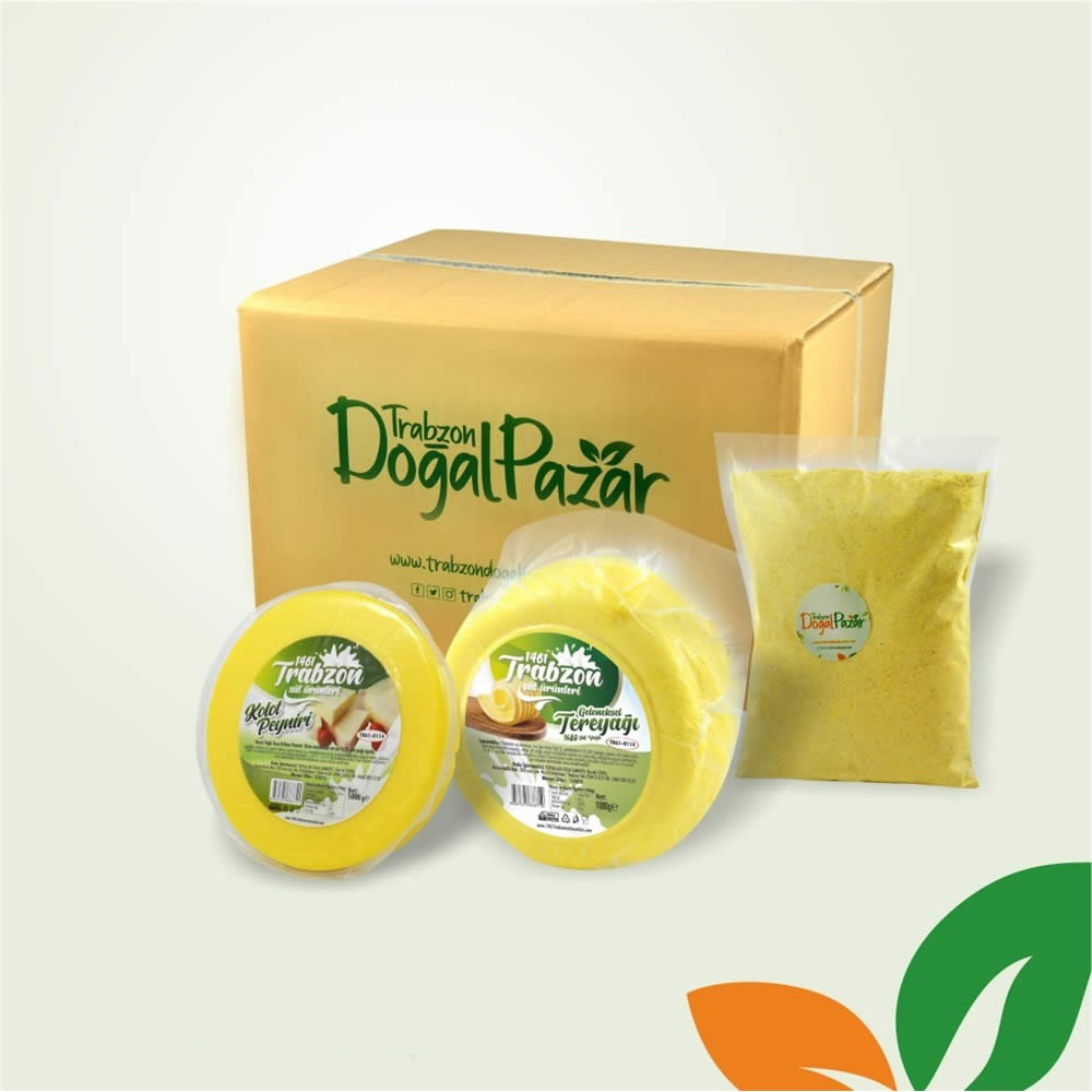 Kolot Peynirli Lezzetli Kuymak Paketi